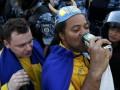 В Киеве запретили продавать пиво и сигареты на Евро-2012