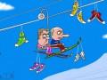 Он нам не Димон, он лыжник: карикатуры на протесты в России