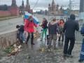 В Москве снова напали на мемориал памяти Бориса Немцова