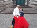 Ветеран АТО обвенчался с невестой на киевском вокзале
