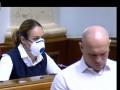Юля в черной маске, Наталья в респираторе: как нардепы в Раде защищались