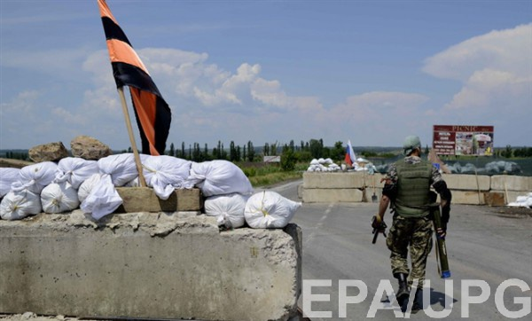 Россия продолжает материально-техническое обеспечение боевиков