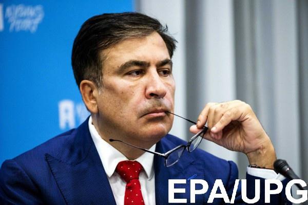 Саакашвили снялся с выборов Рады