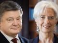 Порошенко обсудил ПриватБанк с главой МВФ