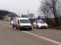 Во Львове полицейских учат преследовать автомобили и стрелять