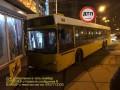 В Киеве водителю автобуса стало плохо: Авто врезалось в магазин
