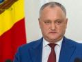 Додона в пятый раз отстранили от должности президента Молдовы