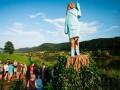В Словении появилась деревянная статуя Мелании Трамп
