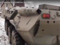 В России экипаж ГИБДД устроил погоню за нарушителем на БТР