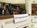 Журналистов Украинской правды хотят лишить аккредитации в Раду из-за плаката