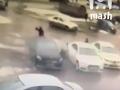 Появилось видео покушения на ростовского бизнесмена