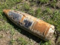 В киевском ботсаду нашли снаряд времен Второй мировой войны