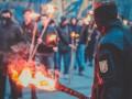 Во Львове прошло факельное шествие в память о Шухевиче