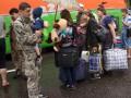 В СНБО заявляют о десятках погибших в результате обстрела колоны беженцев