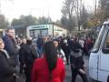 В Тернополе перекрыли дороги в знак протеста против поднятия стоимости проезда