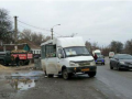 В Днепре у маршрутки на ходу сорвало кран газового баллона