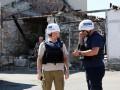 За сутки ОБСЕ зафиксировала 34 взрывы на Донбассе