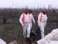 Бойцы показали эвакуацию погибшего в АТО боевика