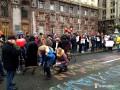 Киевляне вышли требовать пешеходный Крещатик по выходным