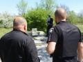 На Хортице вандалы разрушили памятный знак воинам АТО