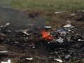 На месте падения малазийского Боинга начался пожар – СМИ