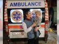 В Харькове прохожий спас из пожара ребенка и дедушку
