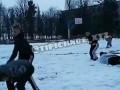 В Харькове подростки устроили драку