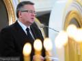 В президента Польши в Луцке бросили яйцом