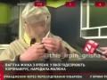 Житель Ирпеня показал, как курить сигареты в защитном костюме