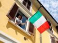 В Италии рекордно низкое число смертей от  COVID-19 с начала карантина