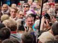 На акции Бессмертный полк в Киеве произошла драка
