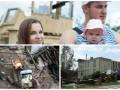 День в фото: день ВДВ, ураган в Прикарпатье и покемон в сирийских руинах