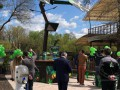 В киевском парке установили smart-дерево с зарядкой для гаджетов
