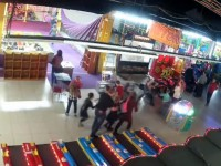Пожар в Кемерово: новое видео игровой зоны в момент возгорания