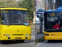 Столичные автобусы выехали на маршруты с обновленными номерными табличками