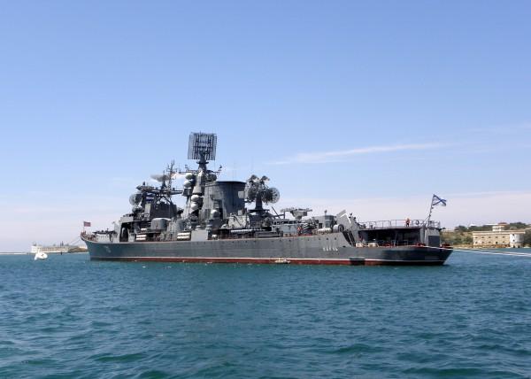 На военном корабле Черноморского флота России случился пожар