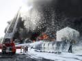 В КГГА сообщили, когда потушат пожар на нефтебазе под Киевом
