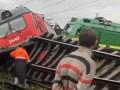 В Петербурге столкнулись два поезда