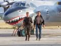В Киев прилетел голливудский самолет-акула
