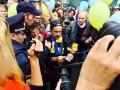 На Марше мира в Санкт-Петербурге спели украинскую песню