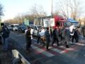 В Киеве протестующие перекрыли Одесскую трассу