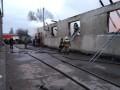 В Одессе пожар на заводе разгорелся на 700 квадратов
