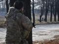 Украинских военных за сутки обстреляли девять раз – штаб АТО