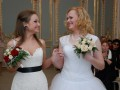 В Санкт-Петербурге впервые сочетали браком женщину и транссексуала