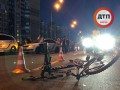 В Киеве авто из кортежа сбило ребенка