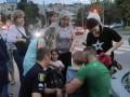 В Харькове полицейские сбили женщину и ребенка