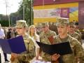 Курсанты академии сухопутных войск приняли присягу на верность Украине