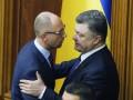 Яценюк обратился к Порошенко: Поддержите меня или увольте