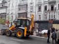 В центре Киева местные жители добились сноса летней площадки кафе