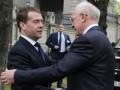 Медведев предложил Азарову обсудить членство Украины в Таможенном союзе